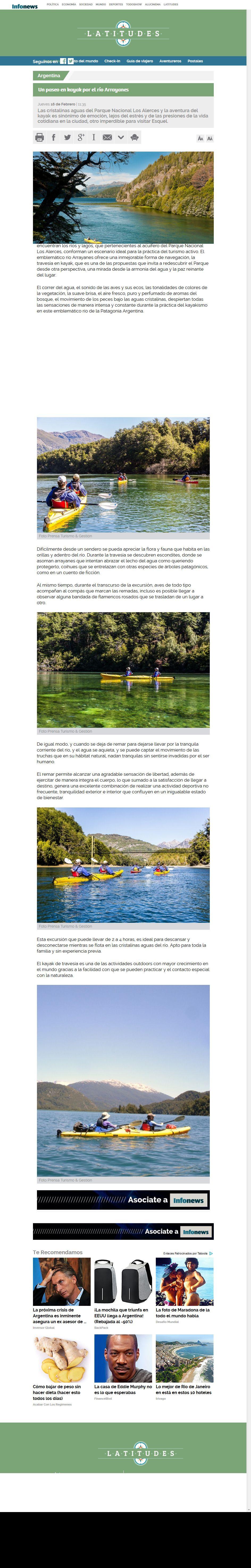 Latitudes kayak