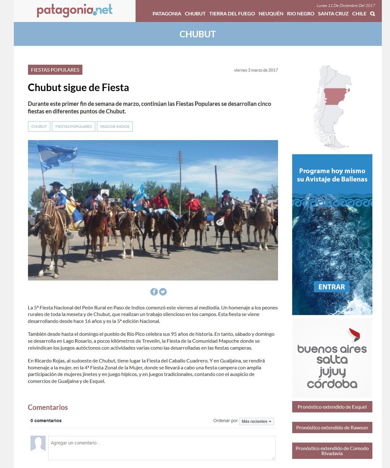 Patagonia Net